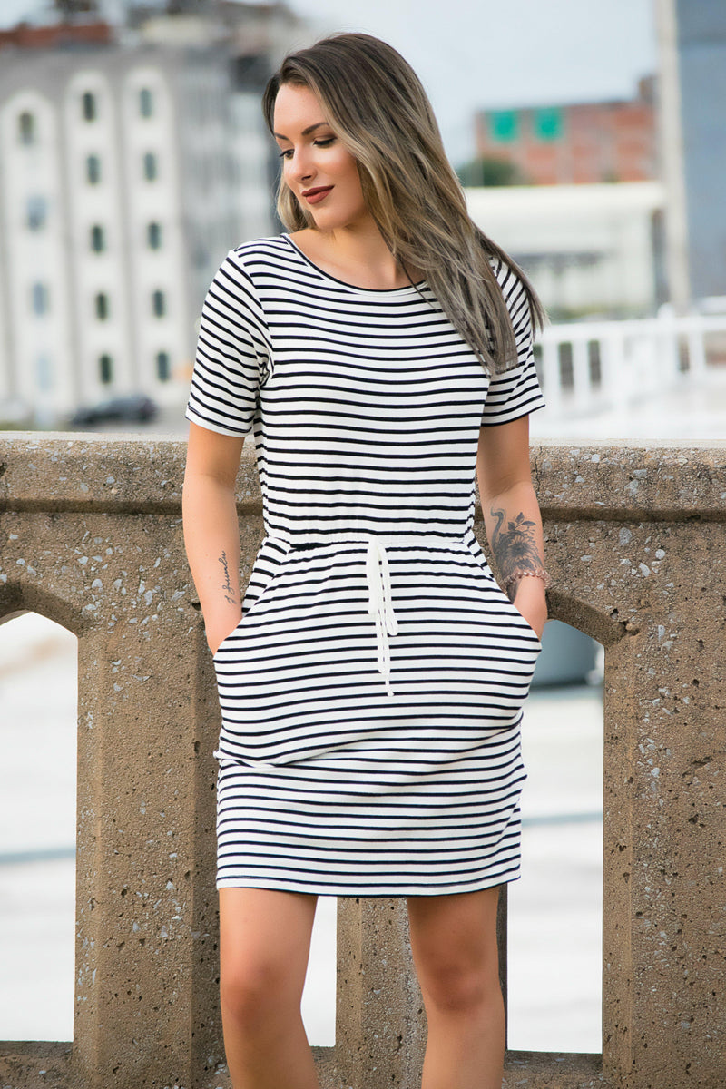 Playing For Keeps Dress - 512 Boutique
