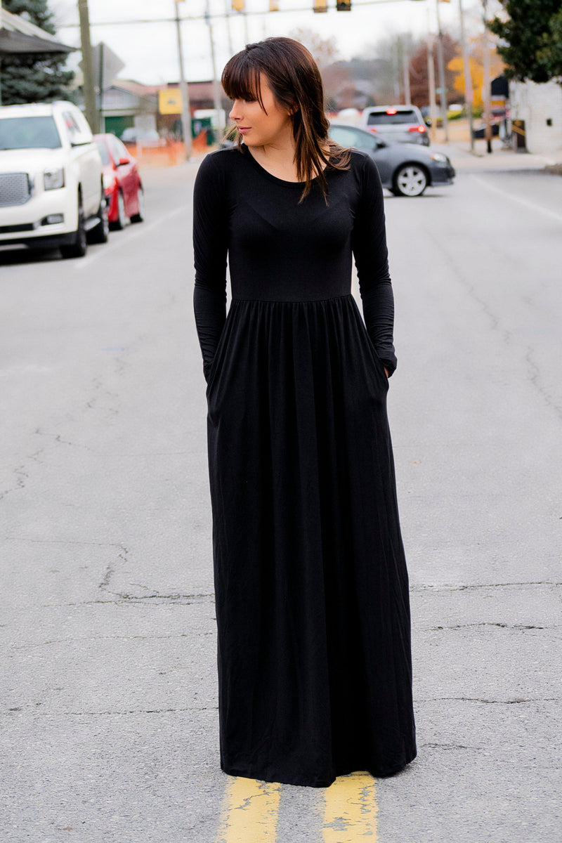 Simple as that Maxi Dress Olive