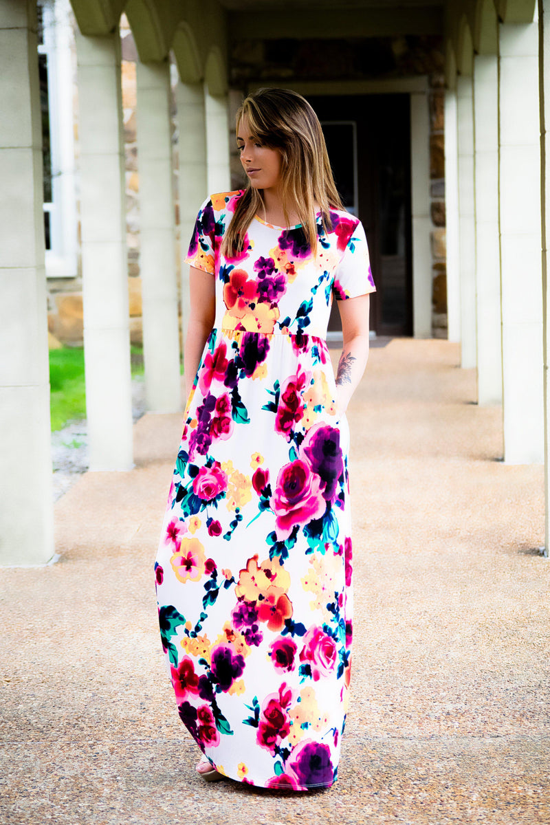 Rainbow Burst Dress