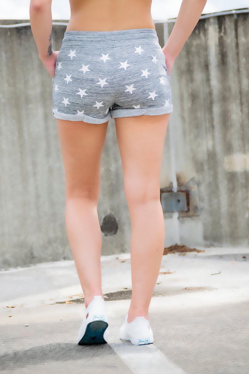 Gray Star shorts - 512 Boutique