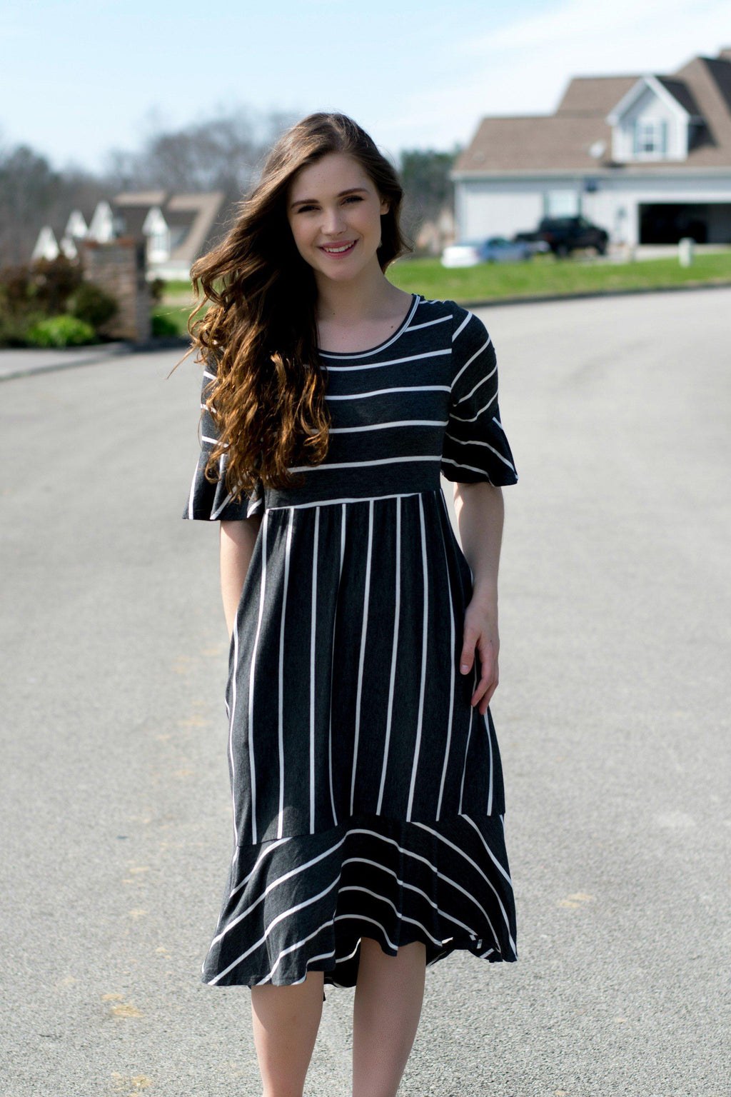 Perfectly Striped Dress - 512 Boutique