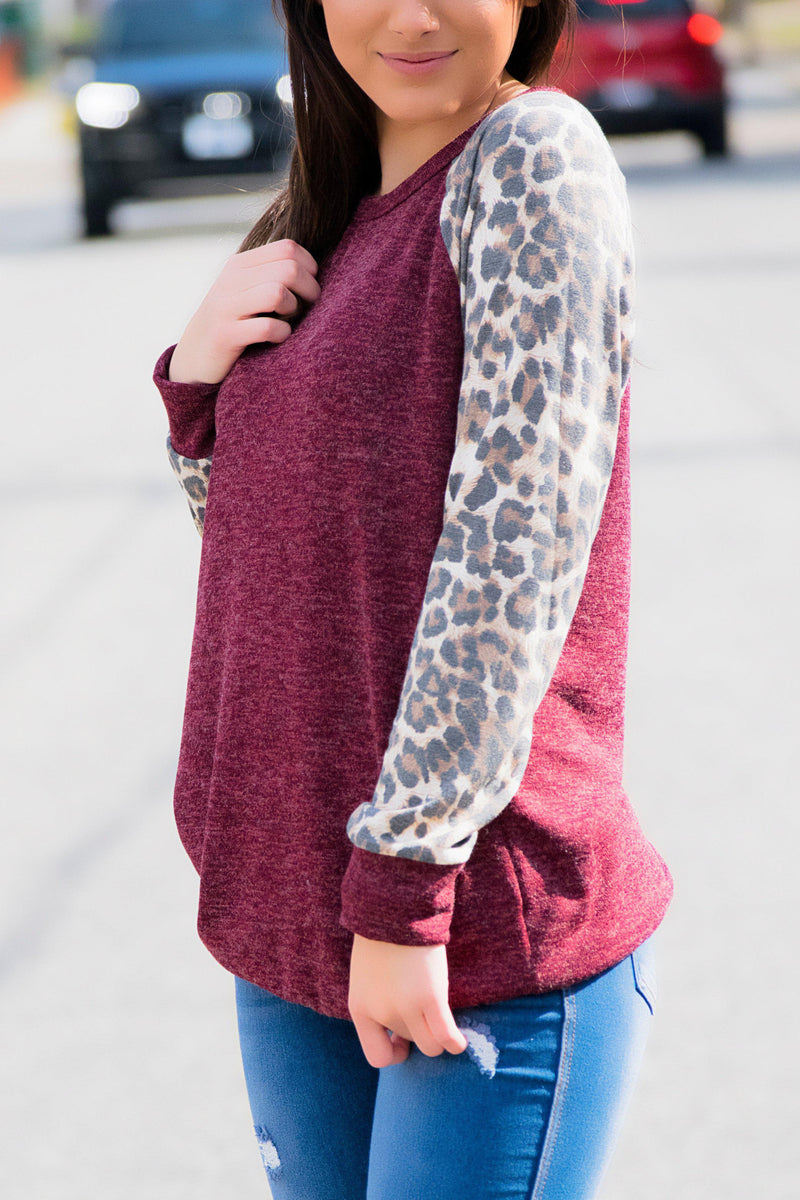 Two Toned Sherpa Pullover - 512 Boutique