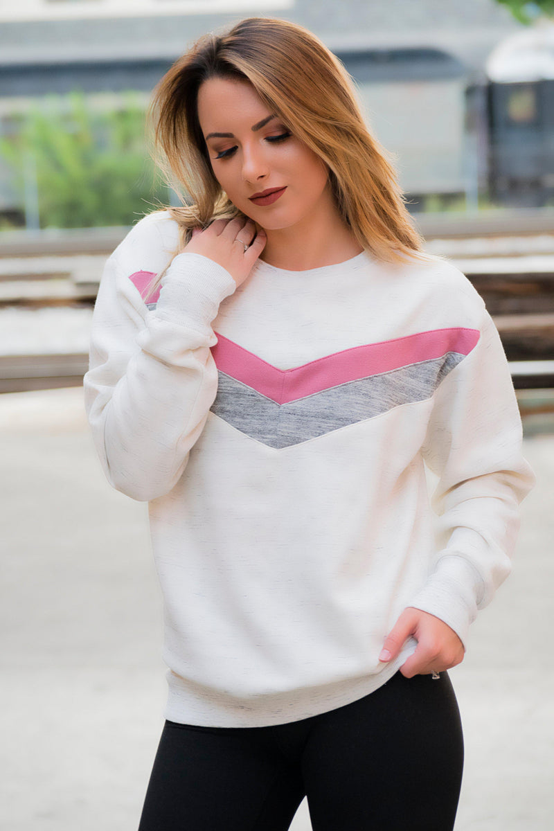 Sunday's Pullover-Pink - 512 Boutique