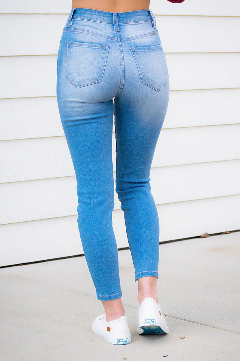 Zoey Distressed KanCan Jeans - 512 Boutique