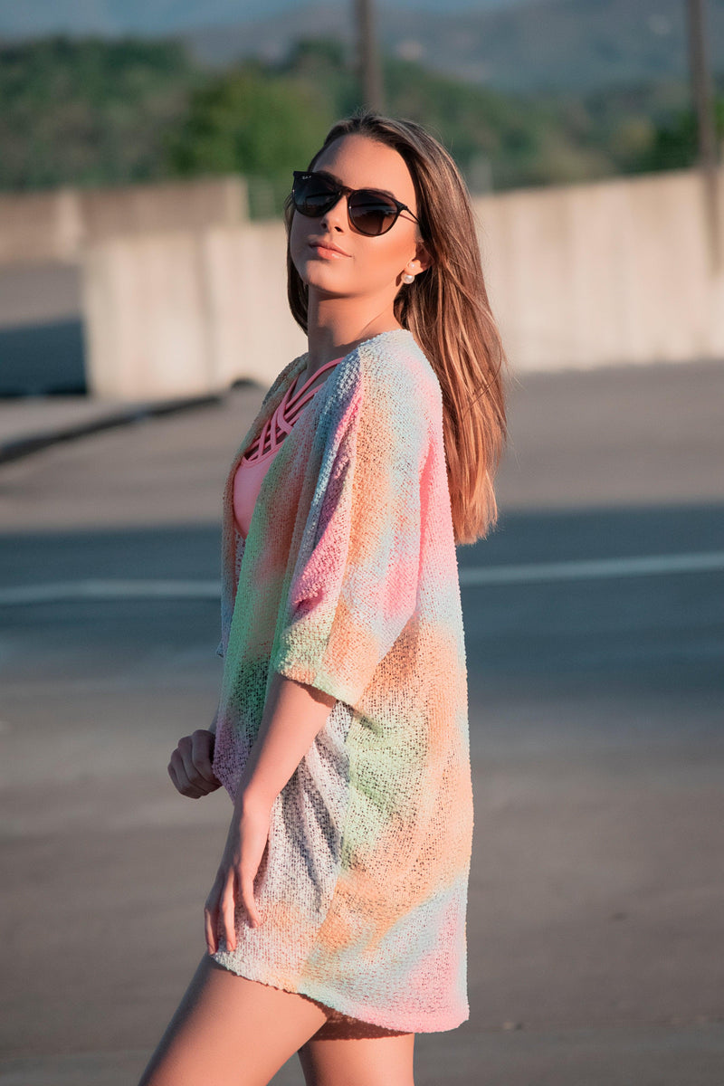 Blast of Color Cardigan - 512 Boutique