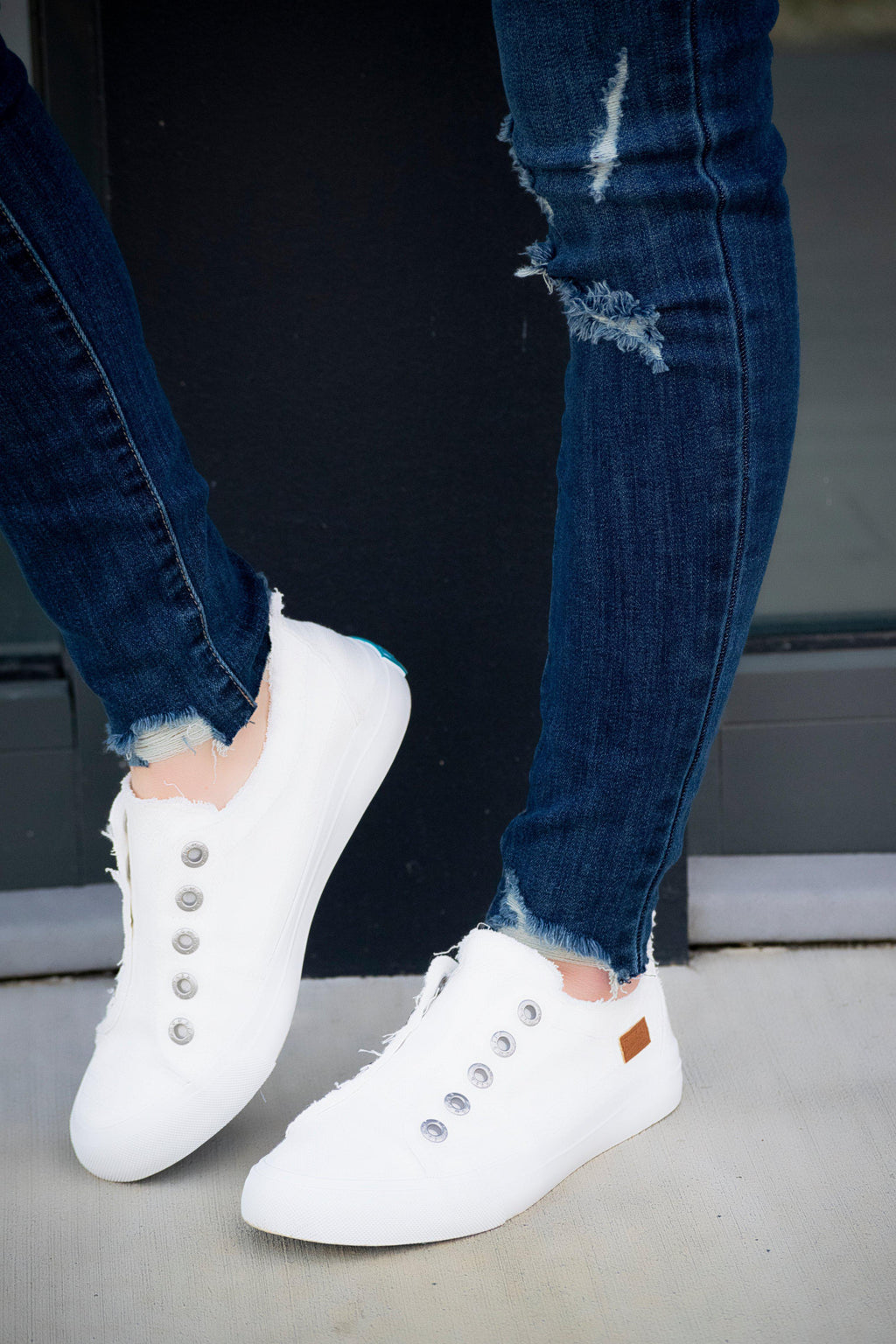 BlowFish Play sneakers ( White Smoke) - 512 Boutique