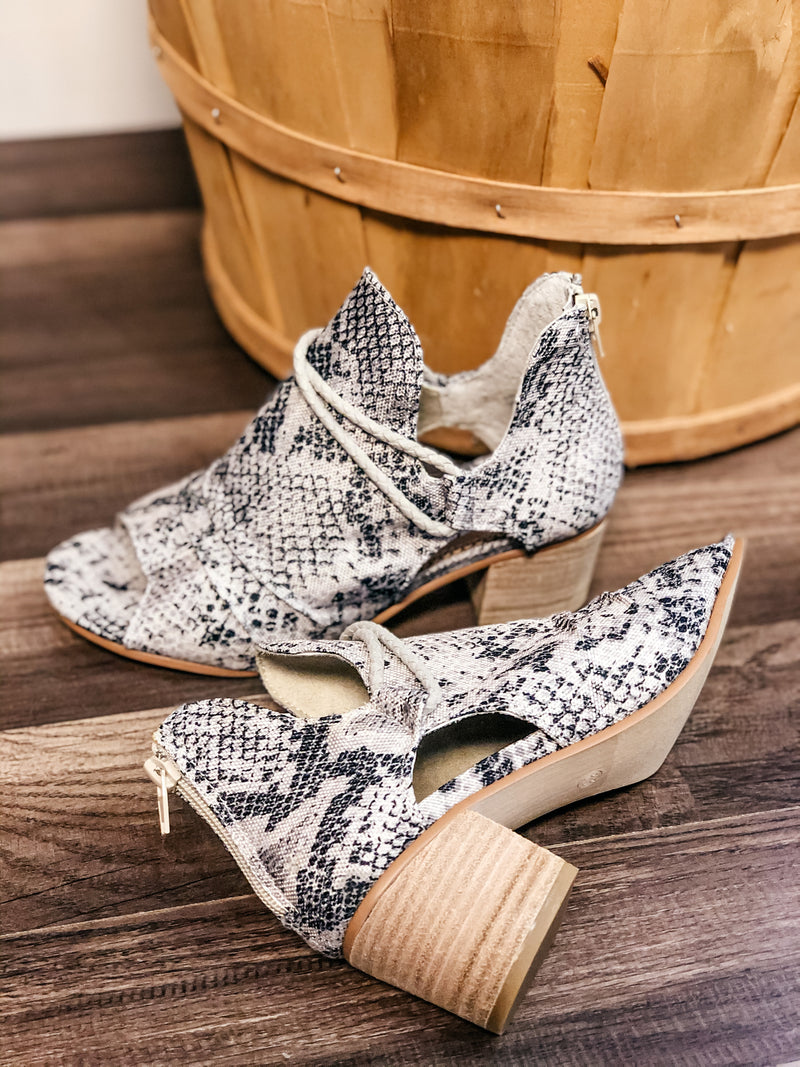 Very G Sillian Booties- Cream - 512 Boutique