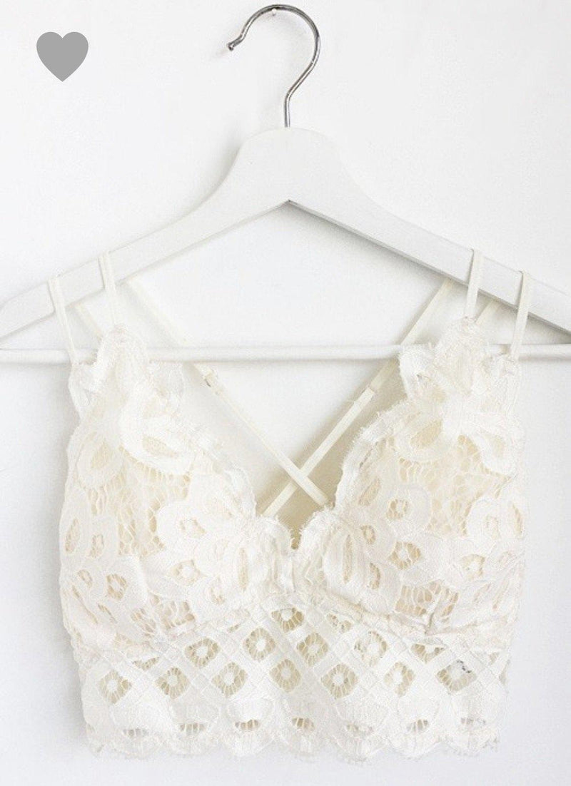 The Blakely Bralette- multiple colors - 512 Boutique