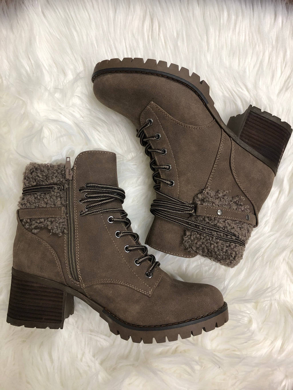 Very G Olivia Boot- Taupe - 512 Boutique