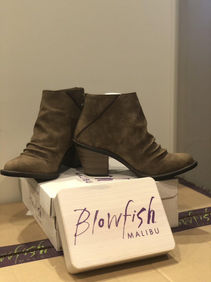 Blowfish Liberty Boot-Taupe - 512 Boutique