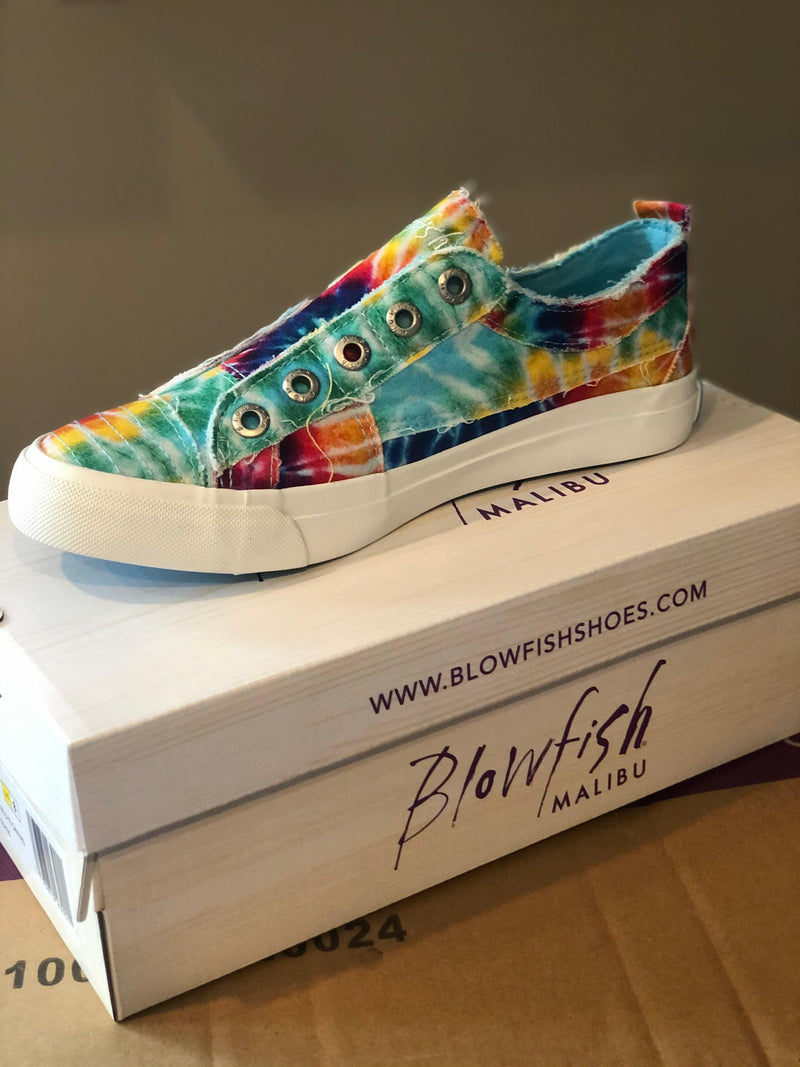 BlowFish Play Sneakers -Tie Dye - 512 Boutique