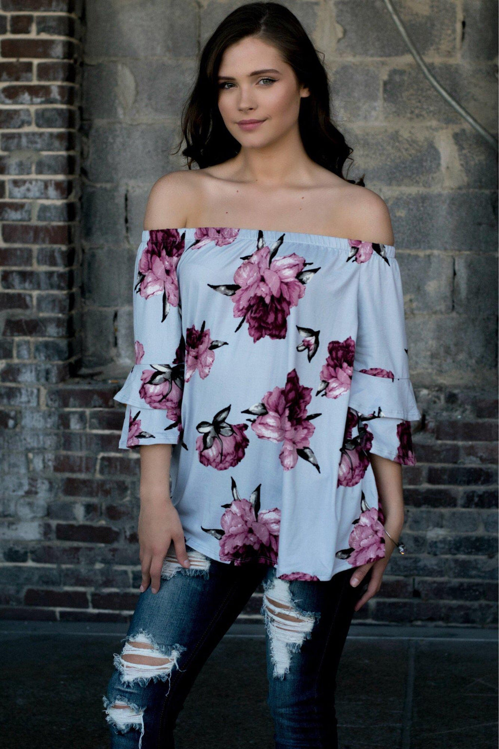 Southern Romance Top - 512 Boutique