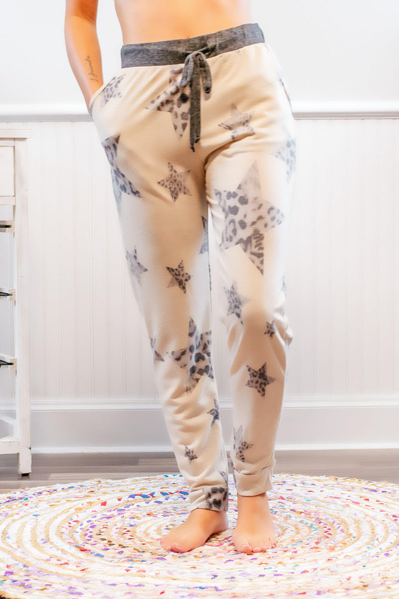 Laser Cut Animal Print Leggings