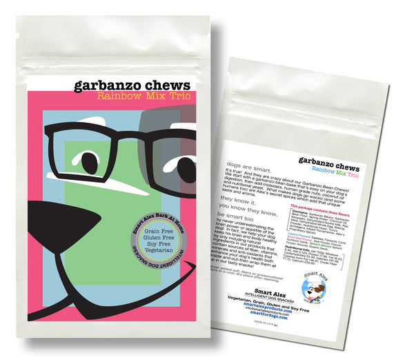 Rainbow Mix Trio Chews
