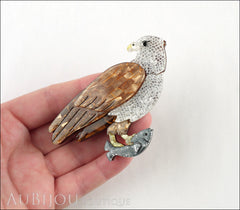 Erstwilder Bird Brooch Pin Brahminy Bryan Eagle Model