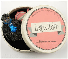 Erstwilder Bird Brooch Pin Pauline The Pearled Emu Grey Box