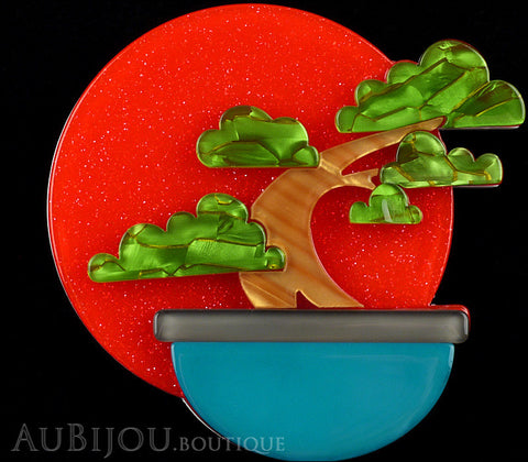 Erstwilder Breathtaking Bonsai Tree Brooch Pin Gallery