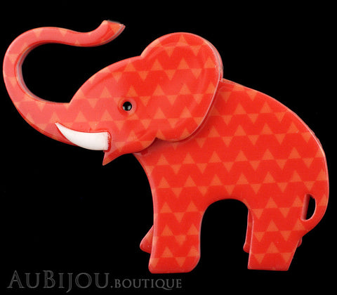 Erstwilder Brooch Pin Elizaveta The Elephant Red Gallery