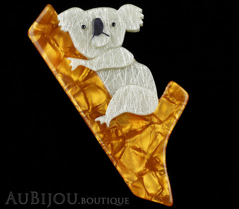 Erstwilder Brooch Pin Kolora Koala Yellow Gallery