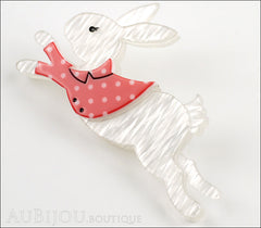 Erstwilder Brooch Pin The White Rabbit Side