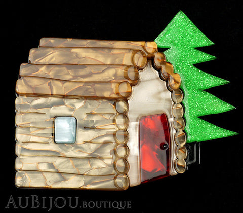 Erstwilder Cabin In The Woods Brooch Pin Gallery