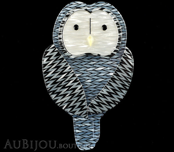 Erstwilder Call Of The Ural Owl Bird Brooch Pin Gallery