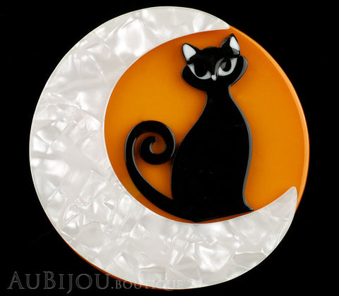 Erstwilder Cat Pin Brooch Cara the Halloween Kitty Gallery