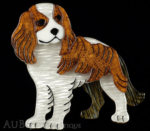 Erstwilder Cavalier King Charles Spaniel Dog Brooch Pin Gallery