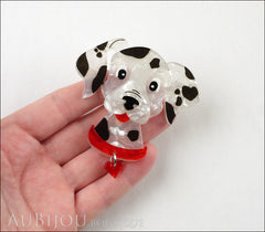 Erstwilder Dalmatian Dog Brooch Pin Model