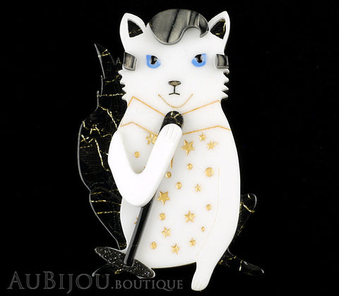 Erstwilder Hound Dog Cat Brooch Pin Gallery