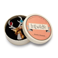 Erstwilder Kind-Hearted Keresh Deer Brooch Pin Box