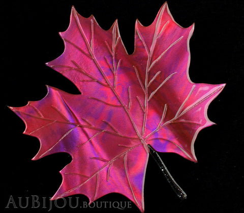 Erstwilder King Of Our Forest Maple Leaf Brooch Pin Gallery