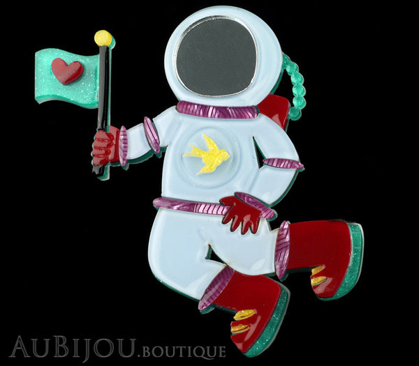 Erstwilder Major Tom Spacesuit Brooch Pin Gallery