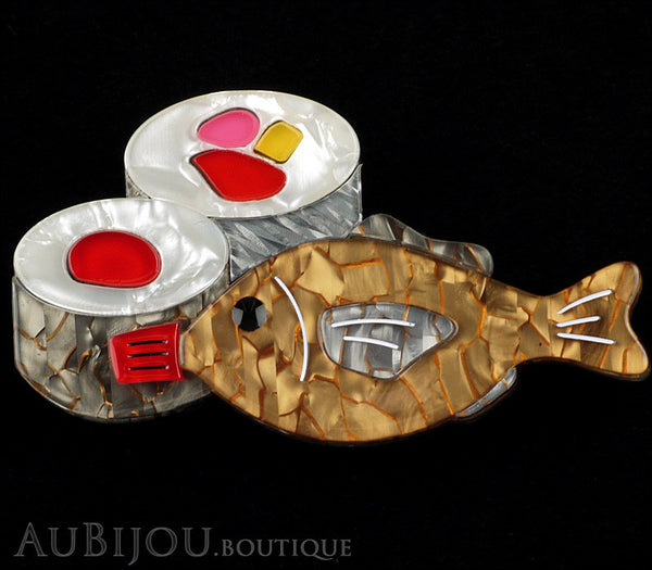 Erstwilder Maki Meal Sushi Fish Brooch Pin Gallery