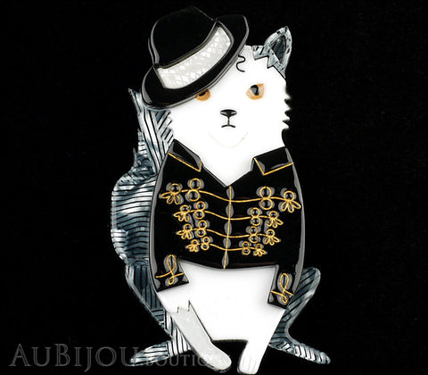 Erstwilder Michael Jackson Rock With You Cat Brooch Pin Gallery