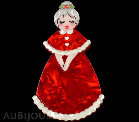 Erstwilder Mrs Claus Christmas Wishes Brooch Pin Gallery