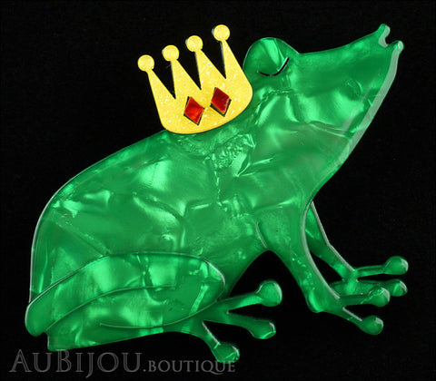 Erstwilder Naveen The Romancer Frog Brooch Pin Gallery