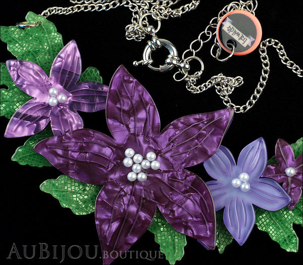 Erstwilder Necklace Gloriosa Bluebell Flower Gallery