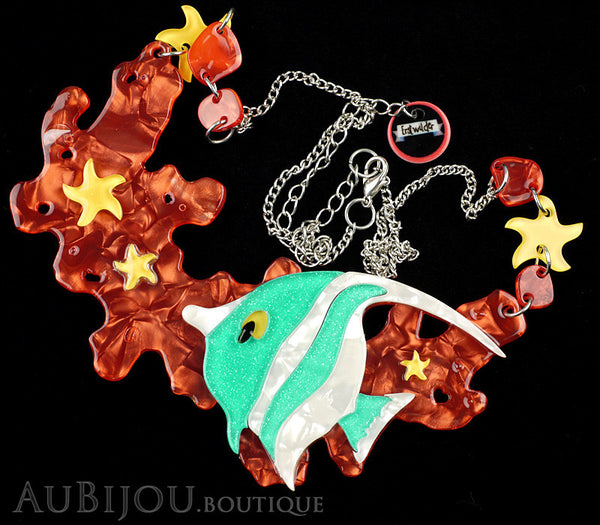 Erstwilder Necklace Oceanic Forest Pennant Coralfish Gallery