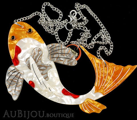 Erstwilder Necklace Playing Koi Carp Fish Gallery