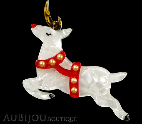 Erstwilder Now Prancer Christmas Reindeer Brooch Pin Gallery
