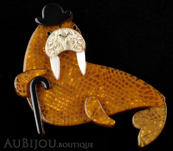 Erstwilder Old Man Walrus Brooch Pin Gallery