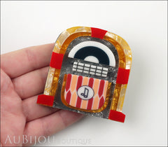 Erstwilder Pin Brooch Jess' Jivin Jukebox Model