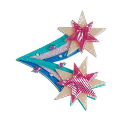 Erstwilder Star Burst Brooch Pin Front