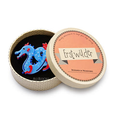 Erstwilder Tatsu The Terrifying Dragon Brooch Pin Box