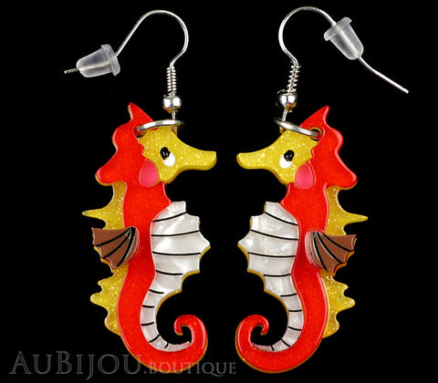 Erstwilder The Ocean Trotter Seahorse Earrings Gallery