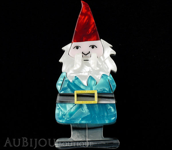 Erstwilder Theres No Place Like Gnome Brooch Pin Gallery