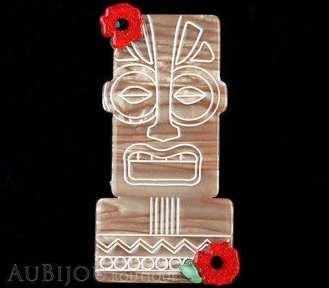 Erstwilder Tiki Idol Heads Brooch Pin Gallery