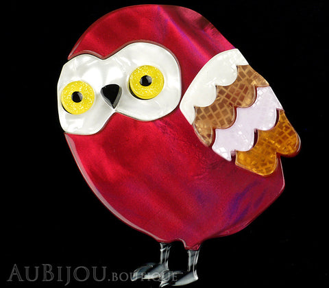 Erstwilder Young Archimedes Owl Brooch Pin Gallery
