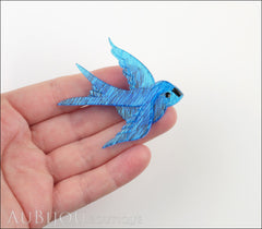 Erstwilder Bird Brooch Pin Bluebird of Happiness Model